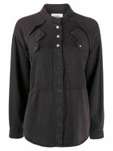 Ba & Sh Tyle layered shirt - Grey