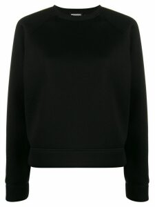 Dsquared2 neon trim sweatshirt - Black