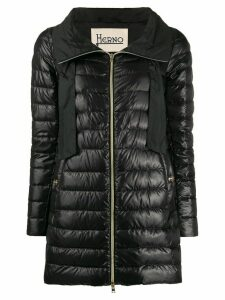 Herno long puffer jacket - Black
