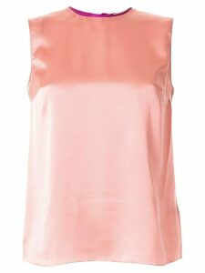 Roksanda silk sleeveless blouse - Red