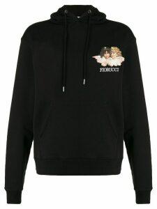 Fiorucci angels hoodie - Black