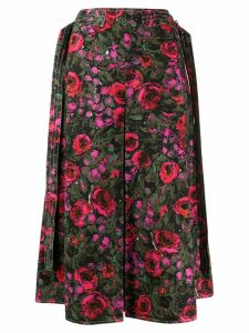Marni Amarcord print a-lined skirt - PINK