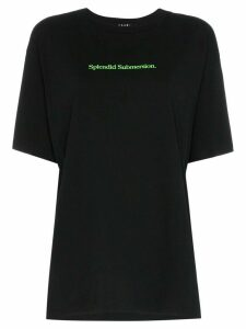 Ksubi splendid submersion logo T-shirt - Black