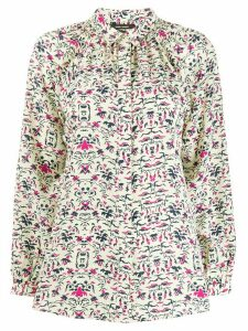 Isabel Marant printed shirt - Yellow