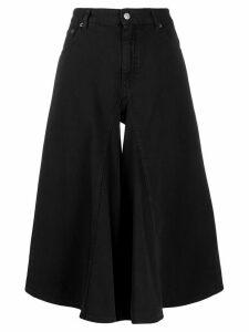 Mm6 Maison Margiela denim culottes - Black