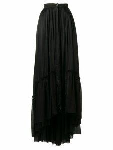 Ann Demeulemeester Nanette long skirt - Black