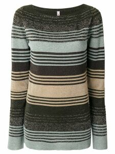 Antonio Marras striped knitted sweater - Multicolour