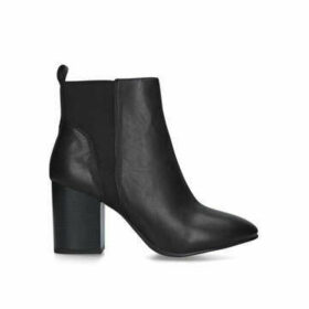 Nine West Cast - Black Block Heel Ankle Boots