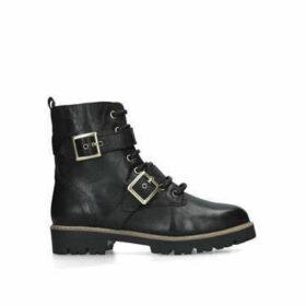 Nine West Cotter - Black Biker Boots