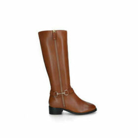 Carvela Waffles - Tan Knee High Boots