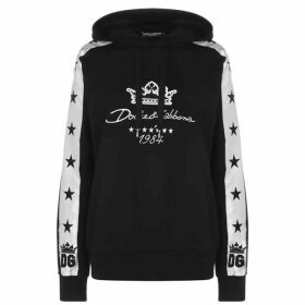 Dolce and Gabbana Side Tape Hooded Sweatshirt