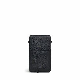 Leopard Oilskin Small Zip-Top Pouch