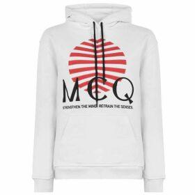 McQ Alexander McQueen Japan Logo Hoodie Alexander Mcqueen