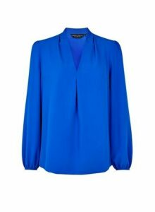 Womens Cobalt Vienna Long Sleeve Top, Cobalt
