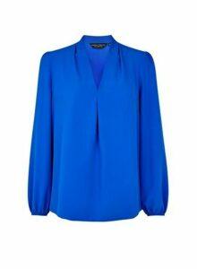 Womens Cobalt Vienna Long Sleeve Top, Cobalt