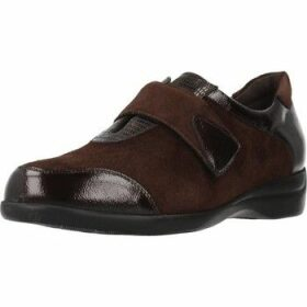 Piesanto  195576  women's Loafers / Casual Shoes in Brown
