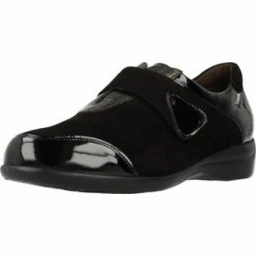 Piesanto  195576  women's Loafers / Casual Shoes in Black