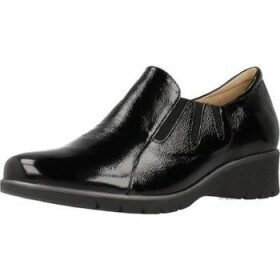 Piesanto  195958  women's Loafers / Casual Shoes in Black