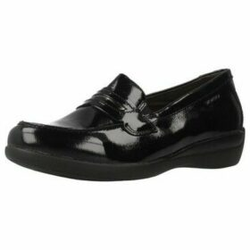 Stonefly  VENUS II 70 NAPLACK  women's Loafers / Casual Shoes in Black