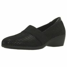 Stonefly  LICIA 29 GOAT GALLES  women's Loafers / Casual Shoes in Black