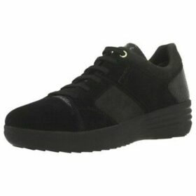 Stonefly  ROMY 8 PIG NUBUK  women's Shoes (Trainers) in Black
