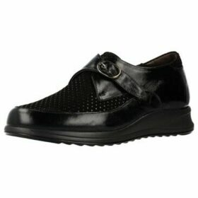 Mateo Miquel  3838 2  women's Loafers / Casual Shoes in Black