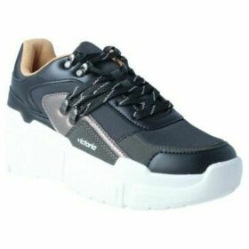 Victoria  149100 Totem Multimaterial Zapatillas de Mujer  women's Shoes (Trainers) in Black