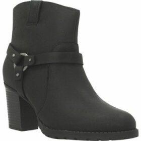 Clarks  VERONA ROCK  women's Low Ankle Boots in Black