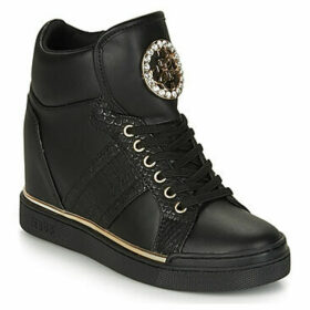 Guess  -  women's Shoes (High-top Trainers) in Black