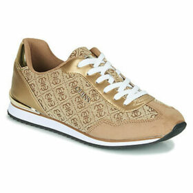 Guess  -  women's Shoes (Trainers) in Gold