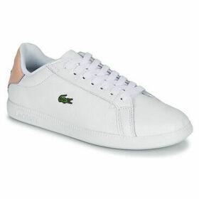 Lacoste  GRADUATE 120 1 SFA  women's Shoes (Trainers) in White