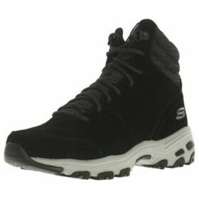 Skechers  D'LITES - CHILL FLURRY  women's Shoes (High-top Trainers) in Black