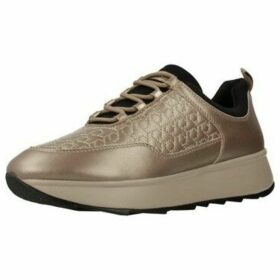 Geox  D GENDRY C  women's Shoes (Trainers) in Gold