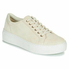 Vagabond  ZOE PLATFORM  women's Shoes (Trainers) in Beige
