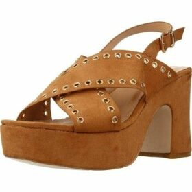 Be Different Be Yellow  SWAN  women's Sandals in Brown