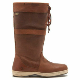 Chatham  Serenity Leather Ladies Sailing Boots  women's Mid Boots in Brown
