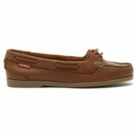 Chatham  Harper Premium Leather Boat Shoes  women's Boat Shoes in Brown