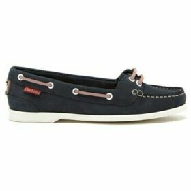 Chatham  Harper Premium Leather Boat Shoes  women's Boat Shoes in Blue
