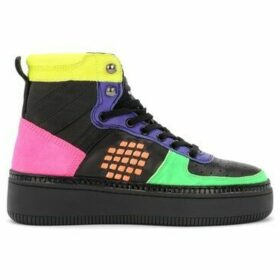 Be Positive  BePositive High Sneaker Sound x Veeshoes in multicolor fluo  women's Shoes (High-top Trainers) in Other