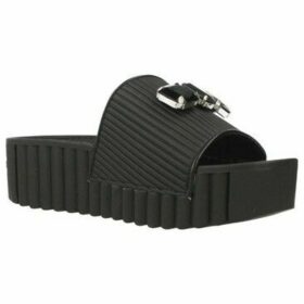 Café Noir  CIABATTA  women's Sandals in Black