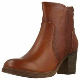 Carmela  66871C  women's Low Ankle Boots in Brown