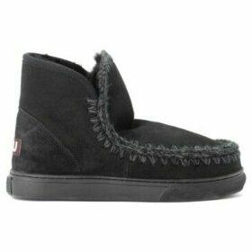 Mou  Stivaletto  Mini Eskimo Sneaker in montone nero  women's Snow boots in Black
