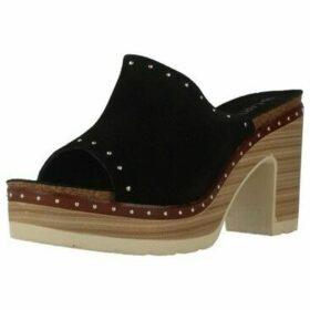 Carmela  ZUECO SERRAJE  women's Mules / Casual Shoes in Black
