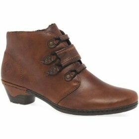 Rieker  Esther Womens Ankle Boots  women's Mid Boots in Brown