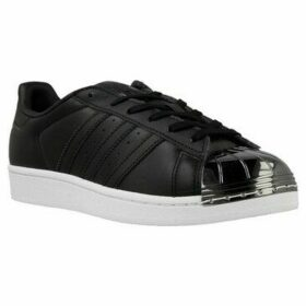 adidas  Superstar Metal Toe W  women's Shoes (Trainers) in Black