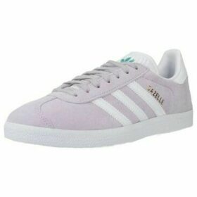 adidas  ADIDAS GAZELLE  women's Shoes (Trainers) in Purple