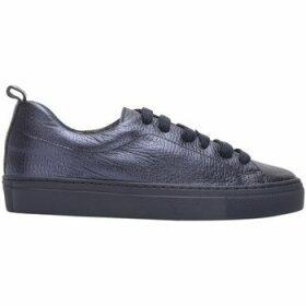 Bensimon  ZIPPED POCKET metallic rectangular clutch  women's Shoes (Trainers) in Blue