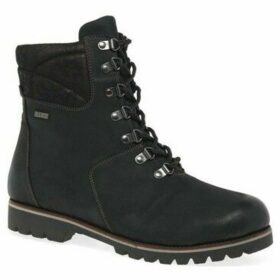 Caprice  Maggie Womens Lace Up Ankle Boots  women's Mid Boots in Black