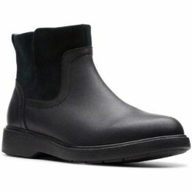 Clarks  UN Elda LO  women's Low Ankle Boots in Black