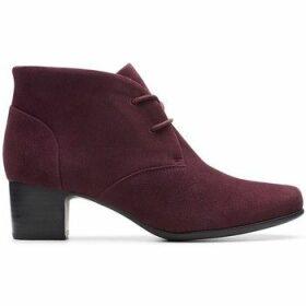 Clarks  UN Damson Tie  women's Low Ankle Boots in multicolour